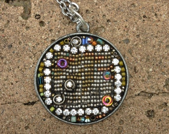 Tapestry Pendant Necklace