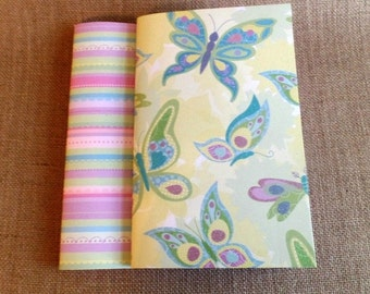 Journals Set of 2  BUTTERFLYS