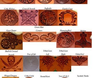 Embossed Patch added to Earthly Leather Design Bags & Pouches