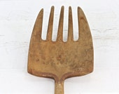Primitive Vintage Pitch Fork, Vintage Fork, Vintage Wooden Pitch Fork