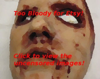Skinned Horror Face Mask - Brooke  -