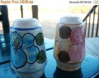 Vintage Metlox California Pottery Salt & Pepper Shaker