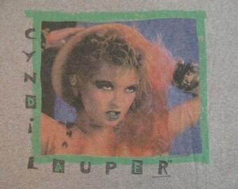 CYNDI LAUPER 1985 tour T SHIRT
