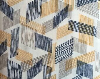Warp weft brow, threads by cloud 9 fabrics 1/2 yard double gauze