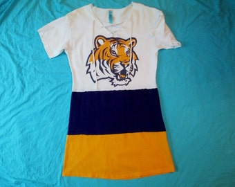GameDay Dress - LSU Tigers Tailgate in Style