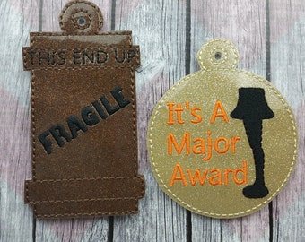 Christmas Story Ornament, Major Award Ornament, Fragile Ornament