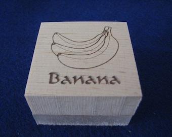 Banana Soap Stamp