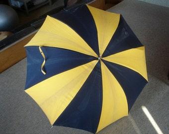 Large Vintage Mid-century Umbrella 50s/60s