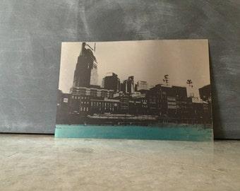 i heart Nashville - metal art print