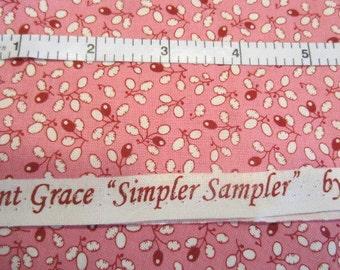Aunt Grace Simpler Sampler Reproduction, Judie Rothermel, Marcus