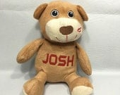 Personalized BROWN BEAR Stuffie