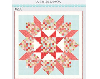 Patchwork Swoon TB 200 by Camille Roskelley of Thimble Blossoms