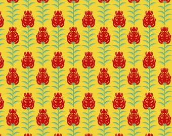 Wyoming Deco State by Tiffany Lerman of In The Beginning Fabrics