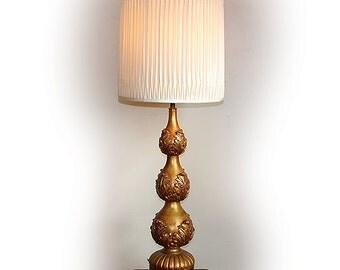 Vintage Regency Spelter Lamp