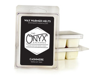 Cashmere Scented Soy Tarts - 6 Pack Soy Wax Melts - Cozy Smell