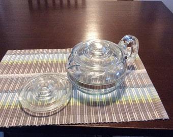 Vintage Pyrex Tea Pot FlameWear