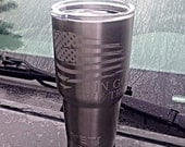 Personalized Etched Yeti Rambler  FREE SHIPPING ALL SIZEs