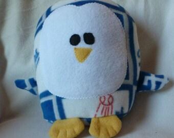 Plush LA Dodgers Penguin Pillow Pal, Baby Safe, Machine Wash and Dry