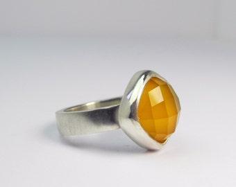Flora Ring - yellow
