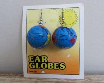 World Globe Earrings
