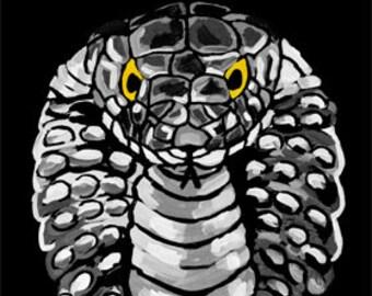 King Cobra Snake (Print)