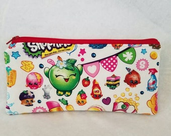 Shopkins pencil case