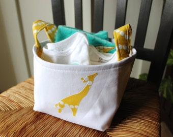 Giraffe and Elephant Lovey Blanket Gift Set