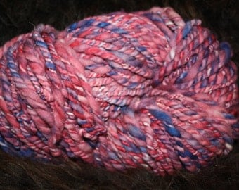 Soft Polwarth Hand spun yarn