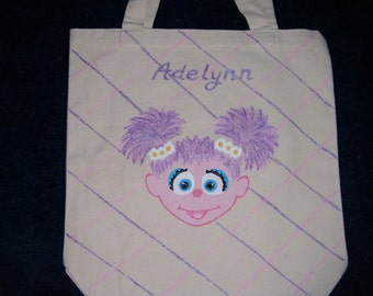 Abby Cadabby Inspired Tote Bag - Free Personalization