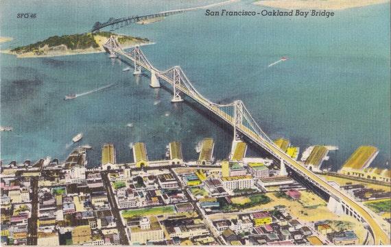 Oakland hills vintage aerials