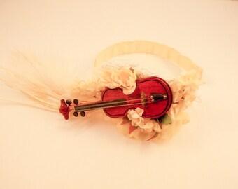Last Melody Violin Hair Accessory