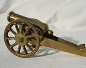 Brass Non-firing Collectible Cannon