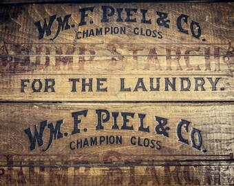 Laundry Room Decor - Laundry Room Print or Canvas Wrap - Art for Laundry Room - Rustic Laundry Room Wall Art - Vintage Laundry Room Decor.