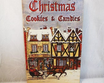 Christmas Cookies and Candies by Irena Chalmers 1978 vintage cookbook