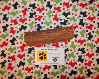 "Organic XL Elk Antler Dog Chew Split ""Made in Montana"" (Lot C58)"