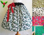 CUSTOM ORDER,Christmas Skirt and Mad hatter skirt