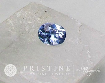 Ice Blue Sapphire Oval Shape Fine Quality Gemstone Over 2.40 Cts for 14K Gold Engagement Ring September Birthstone