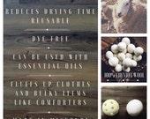 RESERVED FOR ANISSA-Wool Dryer Balls