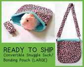 READY TO SHIP Convertible Bonding Pouch Snuggle Sack (Large)
