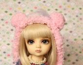 PomPom Bear (Pink) - YoSD hat