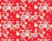 Ooh La La Riley Blake  Fabric Yardage, Red