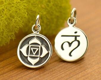 Silver Root Chakra Charm - Chakra Jewelry
