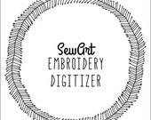 SewArt Embroidery Digitizer | Instant Download