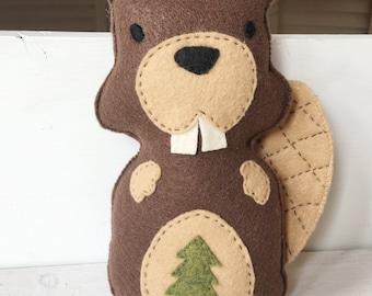 Woodland Theme Beaver