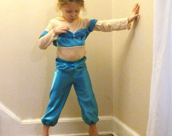 Princess Jasmine Costume: children princess costume- Jasmine costume, princess jasmine party, disney, kids halloween costume, kids costumes