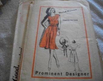 Designer Dress Pattern