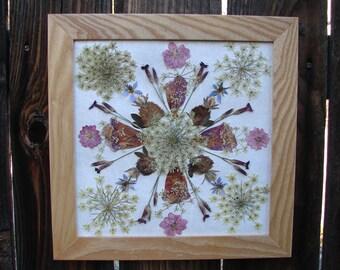 Queen Anne's Lace Mandala