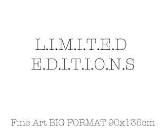 LIMITED EDITIONS -  Big Format 90x135cm