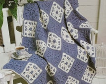 20%OFF The Needlecraft Shop AFTERNOON SNUGGLER By Jan Hatfield - Crochet Afghan Collector's Series Pattern