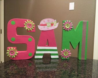 Strawberry Shortcake Custom Name Letters - price is per letter